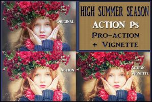 High summer season   ACTIONS Ps  by Tetelle-passion