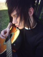 meh and meh guitar by Hott-Emo-Boi