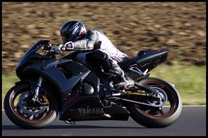 Black Yamaha R6 Closup' by Zed03