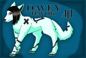 Davey Havok -wolf- by Enigma-Shadow