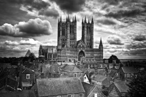 Lincoln Cathedral by Yupa