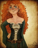RotBTD Pirate!AU - Merida Dunbroch by sjsaberfan