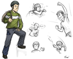 Tyler reference sheet by Frario
