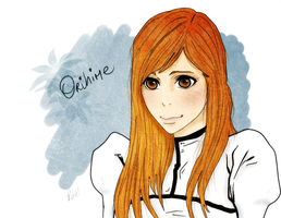 Orihime:Hueco mondo by Lovelorn-Insanity