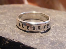 Blessed Be Ring by MoonLitCreations