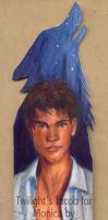 Twilight bookmark- Jacob Black by ChibiSofa