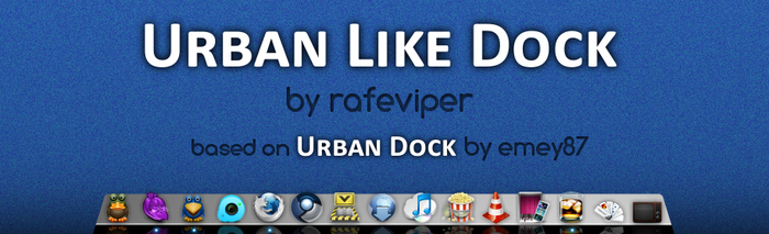 Urban Like Dock for AWN by rafeviper