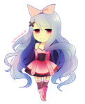 Chibi Commish - Amaryllis by chuwenjie