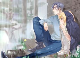 rainy day by Smoxt