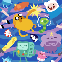 (free) Adventure Time Tile by Sharkysaur