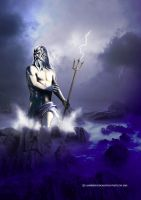 Poseidon's fury by vampirekingdom