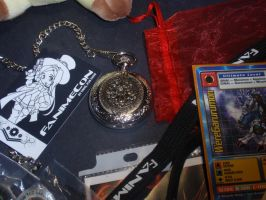 What I Got At Fanime 3 by DreamsWithinMe