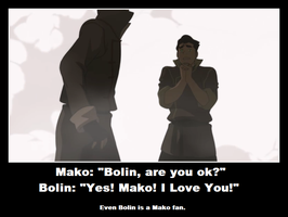 LoK: Bolin Is a Mako Fan by sasuke12234