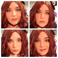 Reina Davi makeup test by Labyrinthinwyrm