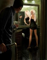 Andrej  Pejic by Iren---Loxley
