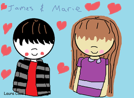 James and Marie by GothicTaco198