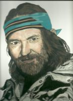 Willie Nelson Colour by donna-j
