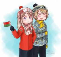 Sochi 2014- Ukraine and Belarus by shadowsoffear