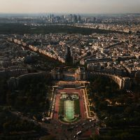 Paris skyline by CatchMe-22