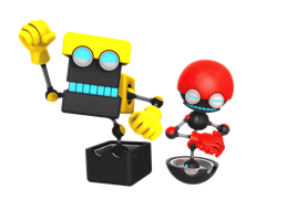 Orbot and Cubot 2016 Render by Nibroc-Rock