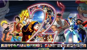 Shonen Jump vs. Capcom 2 by vsking123