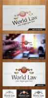 World Law Logo Template - Graphicriver by Changyik