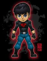 Young Justice Invasion- Superboy by lordmesa