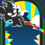 Rainbow Beam of Death by embercoral