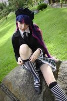Stocking Anarchy (school queen version) by victoriacosplay