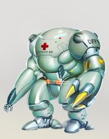 Mecha Medic Enhanced coloring by sharknob