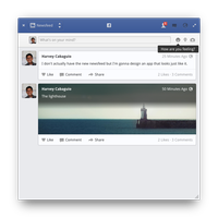 Facebook App by BassUltra