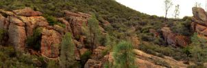 Pinnacles Volcanic Formation by mightystag