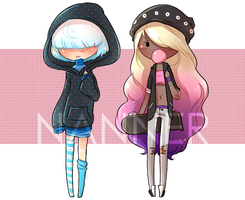 [Adopts] Human Adopt Auction 3 - OPEN - 1 LEFT! by NannerDopts
