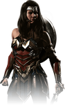 Wonder Woman Injustice 2 Portrait PNG by DarkVoidPictures