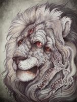 Nemean Lion by CaitlinHackett