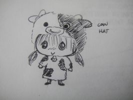 Cow Hat by MelodicInterval