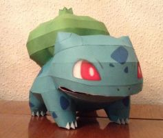 Bulbasur Papercraft by giden445