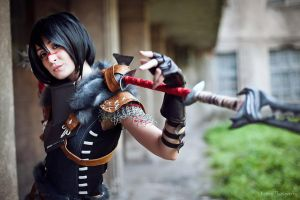 Dragon Age II - Lady Hawke by The-Kirana