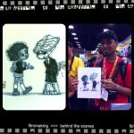 SDCC Commishes- Oya 'n' Broo by lordmesa