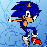 Sonic The Hedgehog Doodle by SpikesTheFox