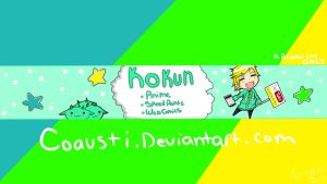 My New YouTube Banner by coausti