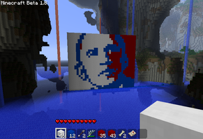 President Pixel Obama by bulletinyurass