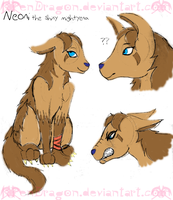 Neoni the Mightyena by KPenDragon