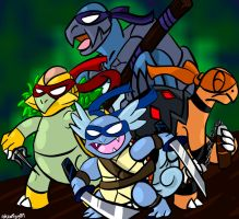 Teenage Mutant Ninja Pokemon by RedScarfGuy01