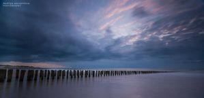 Last Light over the North Sea by Svision