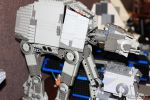 Lego Luke at AT-AT by V-kony
