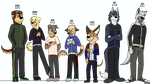 The Round Trip - Character Concepts by The-Cipher-Dog