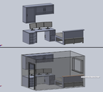 New Desk/Room WIP2 by steveee