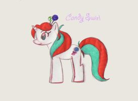Sugy Pony- Candy Swirl by SweetAbril