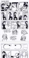 Subway Comic: Homicide. by taeshilh